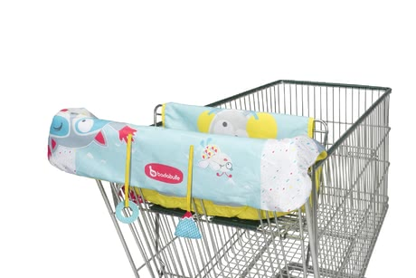 Badabulle Shopping Trolley Protection -  * Hygiene and cleanliness are important factors in everyday family life – Badabulle's shopping trolley protection protects your child from germs and bacteria while sitting in the trolley seat.