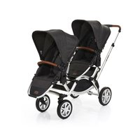 ABC-Design Double Stroller Zoom Air -  * The new Zoom Air is the perfect companion for parents that are blessed with two little adventurers. It features all characteristics of the popular Zoom while combining them with large air filled wheels that make this stroller the best choice for traveling on any terrain.