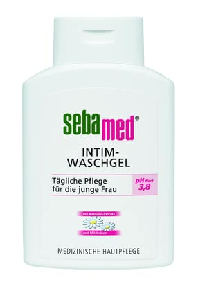 Sebamed Intimate Wash Gel, 200 ml -  * The Sebamed Intimate Wash Gel cleanses the sensitive skin of your genital area in the gentlest way. It is suitable for young women up to the climacteric period.
