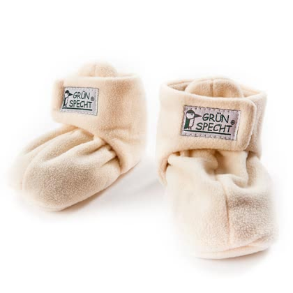 Grünspecht Warming Baby Shoes with Rapeseed -  * Sleeping with cold feet is far away from being cosy. That is why Grünspecht has designed the warming baby shoes filled with rapeseed that keep the feet of your little one comfortably warm.
