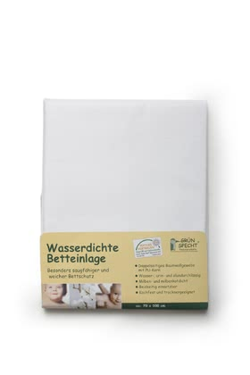 Grünspecht Water-Resistant Bed Insert -  * The water-resistant bed insert by Grünspecht is a particularly absorbent and soft protection for your little one's sleeping place.