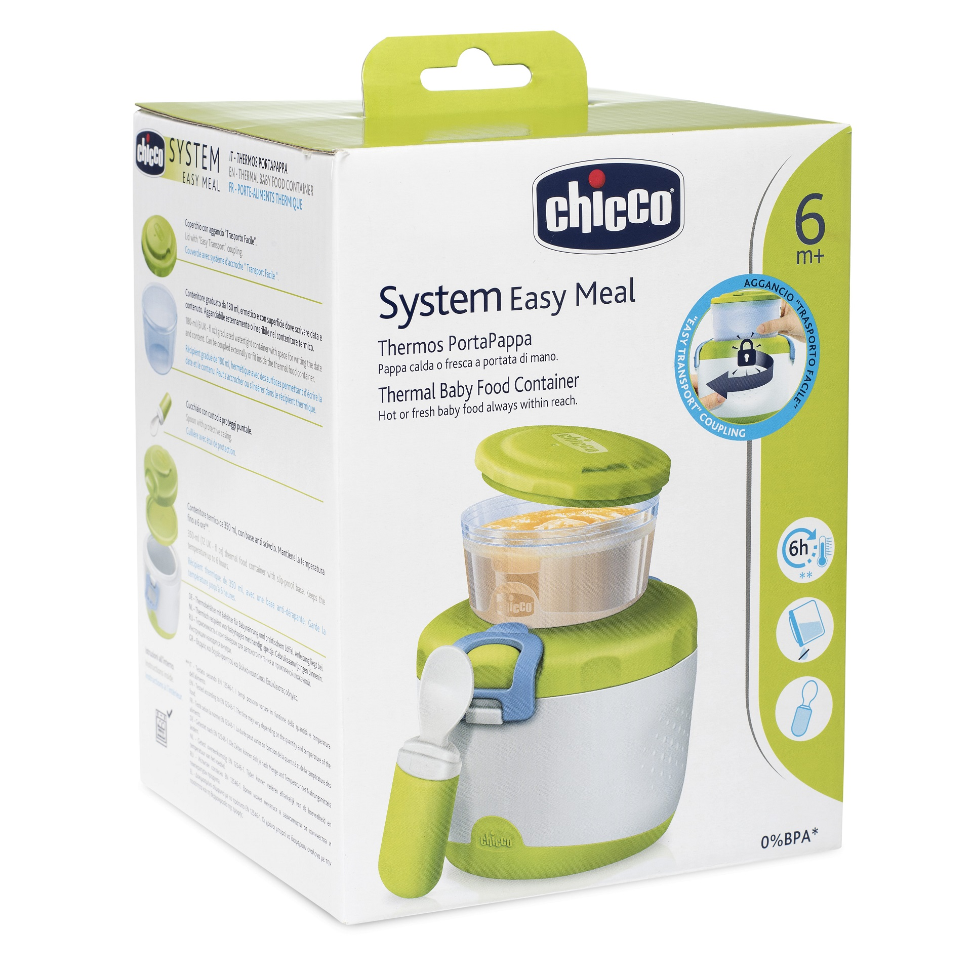Chicco Easy Meal Insulating Container For Baby Food System 6m Buy Safe Steam Cooker