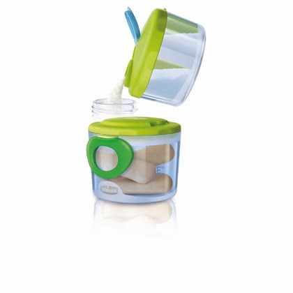 Chicco Easy Meal Scoop System for Formula, 0+ -  * Chicco's Easy Meal System makes everyday life with a tiny human a lot easier. Right from breastfeeding time to the weaning period, this entire system provides you with great possibilities to store formula, snacks and the like.
