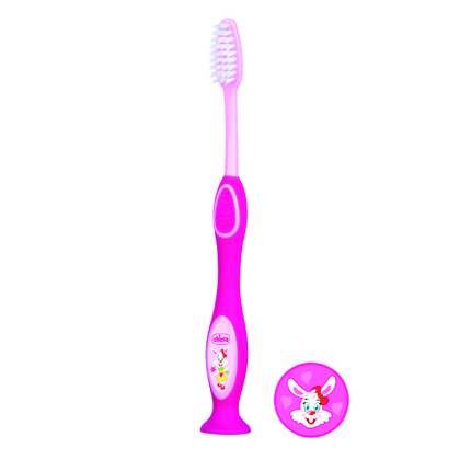 Chicco Toothbrush -  * With a cheerful design that is perfect for little boys and girls at the age of three years and up, Chicco's toothbrushes are the ideal companion for learning how to brush teeth properly.