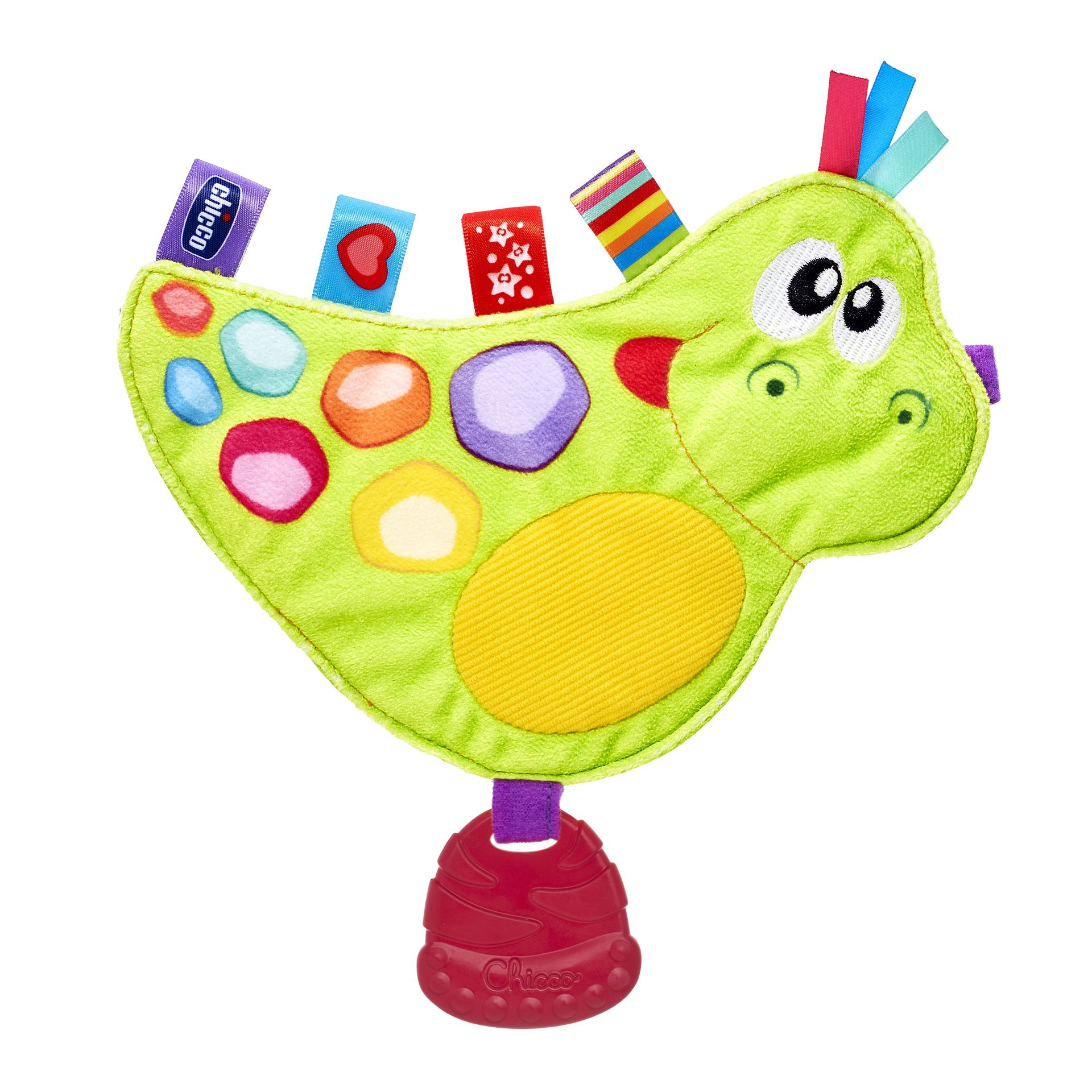 Chicco Baby Senses Soft Toy Dino Buy at kidsroom Toys