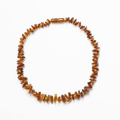 Grünspecht Baby Amber Necklace -  * The Grünspecht Baby Amber Necklace is one of the most classic jewellery for babies and toddlers. In the olden days, amber was said to be a sign of power and wealth and even today jewels that are made of or contain pieces of amber are very popular.