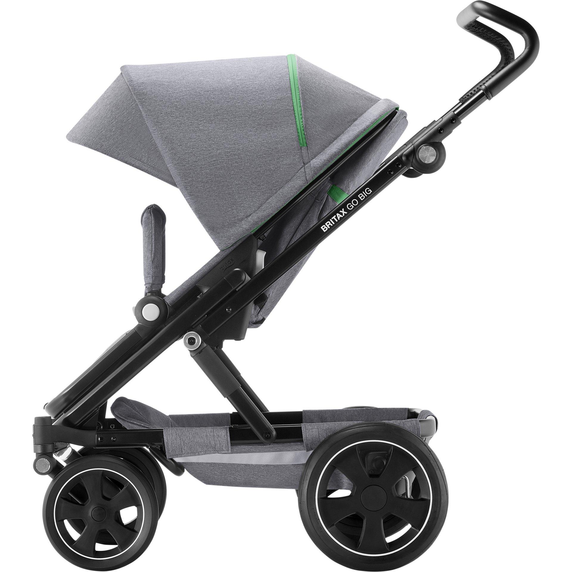 britax r mer multi functional pram go big 2 2018 dynamic grey buy at kidsroom strollers. Black Bedroom Furniture Sets. Home Design Ideas