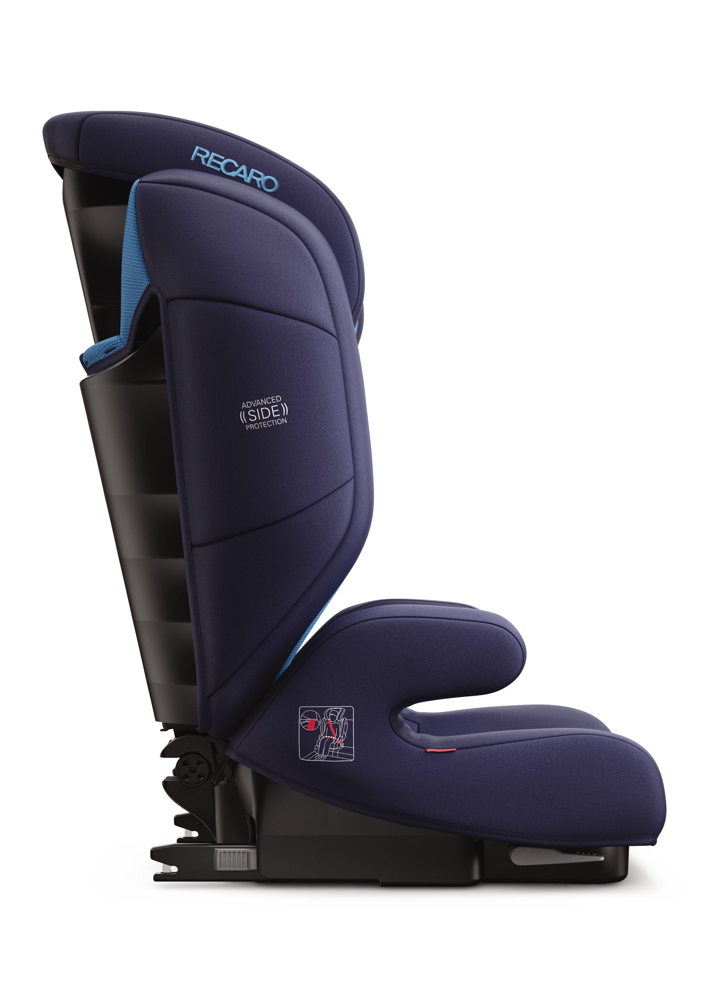recaro child car seat monza nova evo seatfix 2018 performance black buy at kidsroom car seats. Black Bedroom Furniture Sets. Home Design Ideas