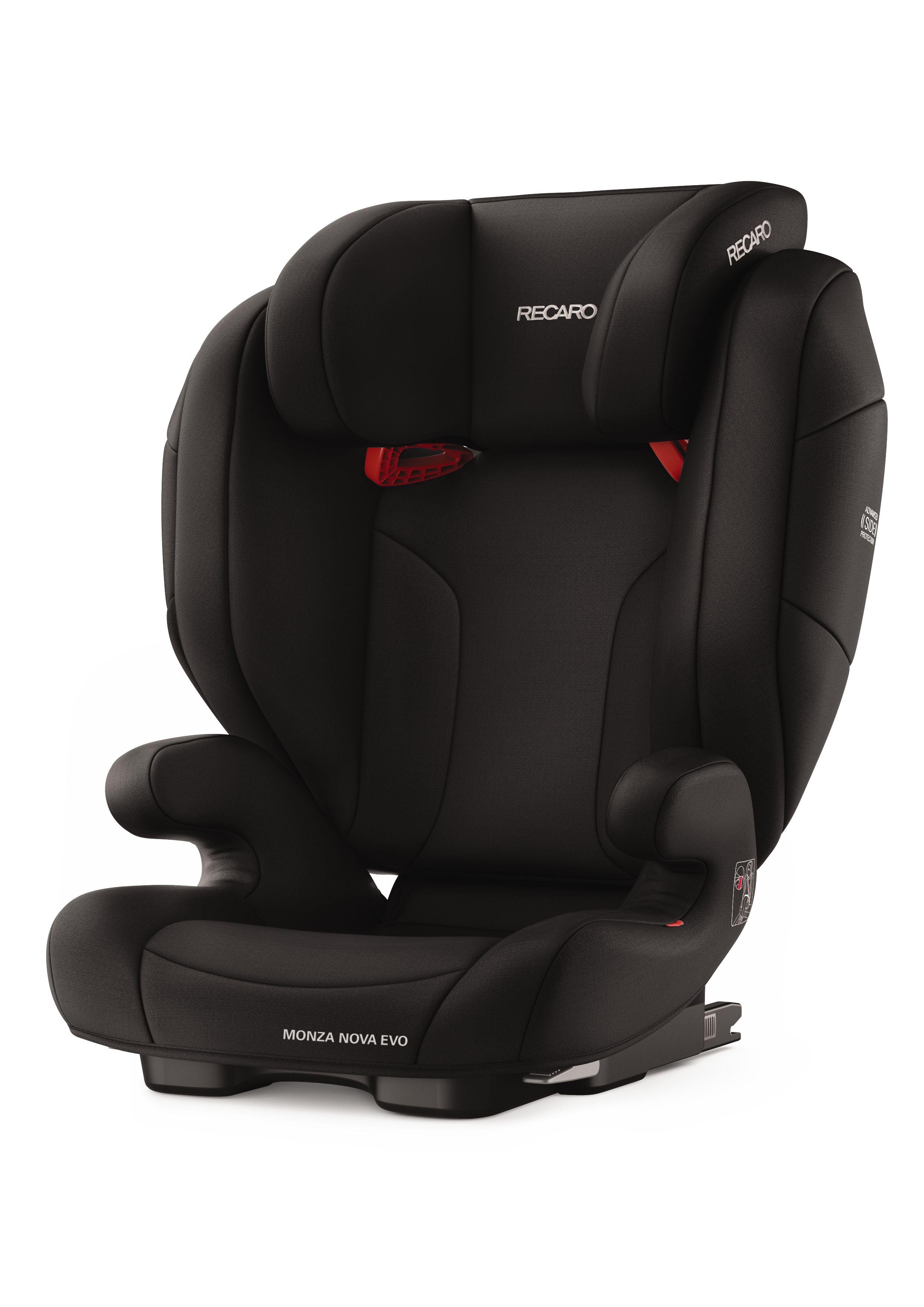 Recaro Child Car Seat Monza Nova Evo Seatfix 2019 Performance Black Buy At Kidsroom Car Seats