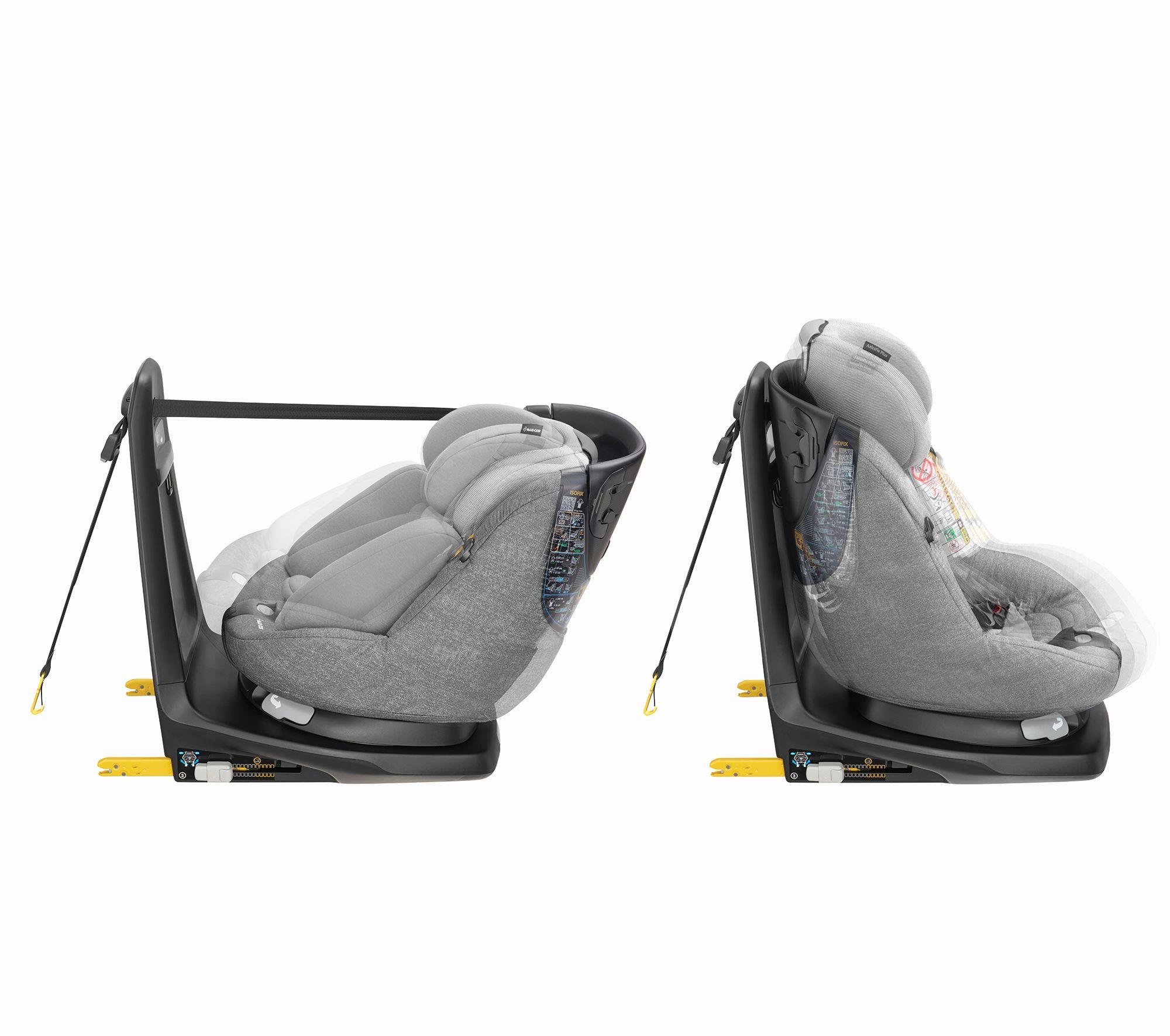 maxi cosi child car seat axissfix plus 2018 nomad grey buy at kidsroom car seats. Black Bedroom Furniture Sets. Home Design Ideas
