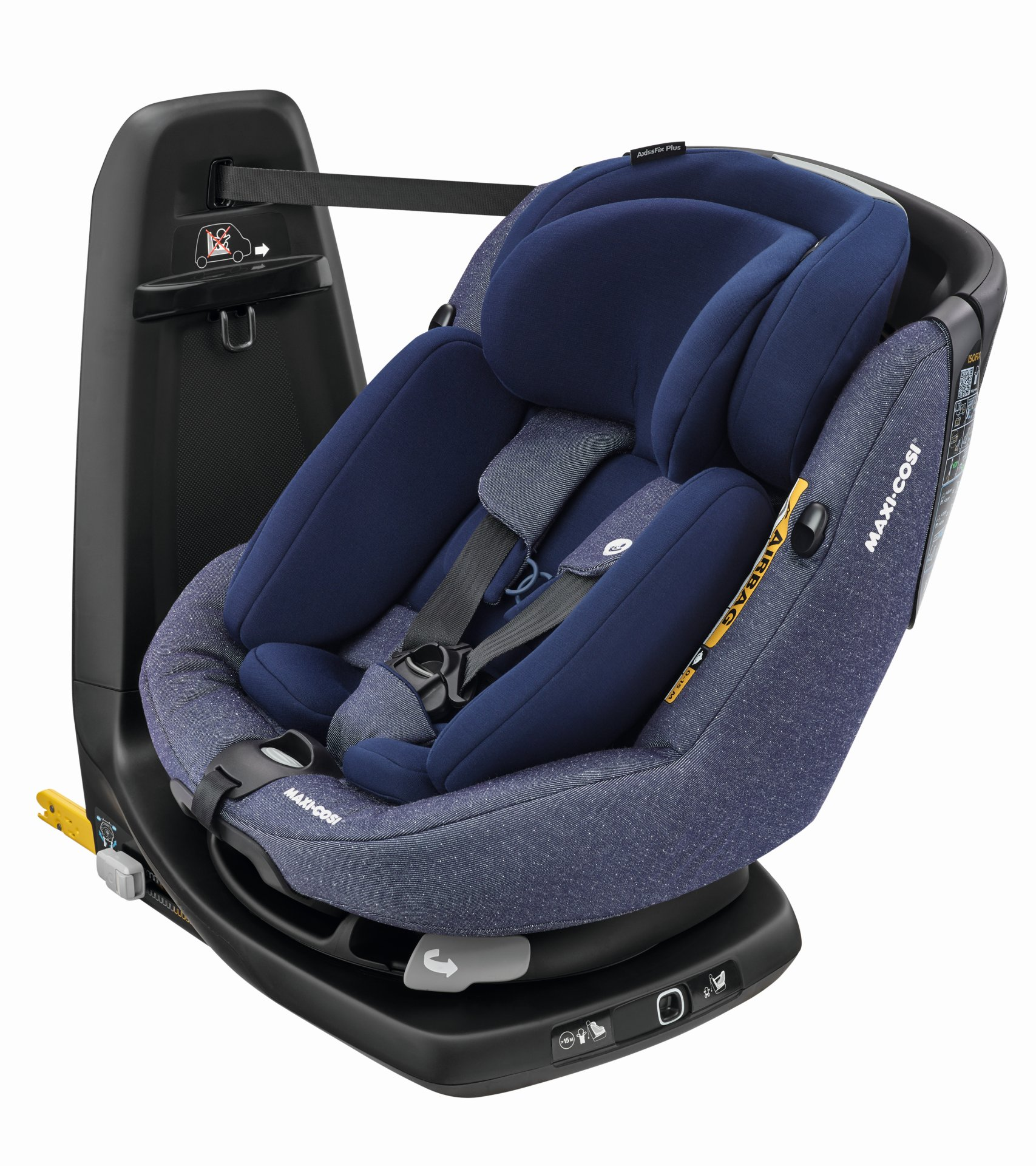 maxi cosi child car seat axissfix plus 2019 sparkling blue. Black Bedroom Furniture Sets. Home Design Ideas