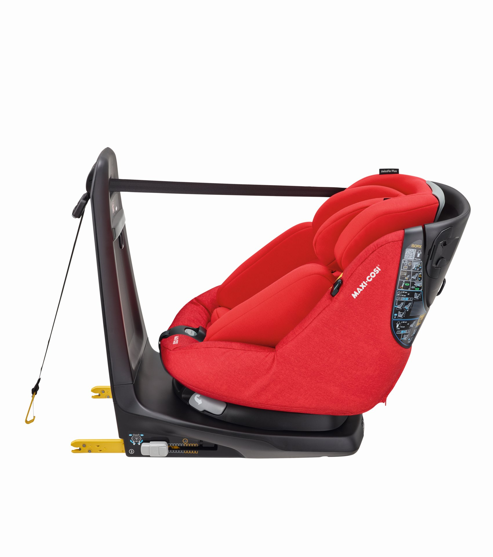 maxi cosi child car seat axissfix plus 2019 nomad red. Black Bedroom Furniture Sets. Home Design Ideas