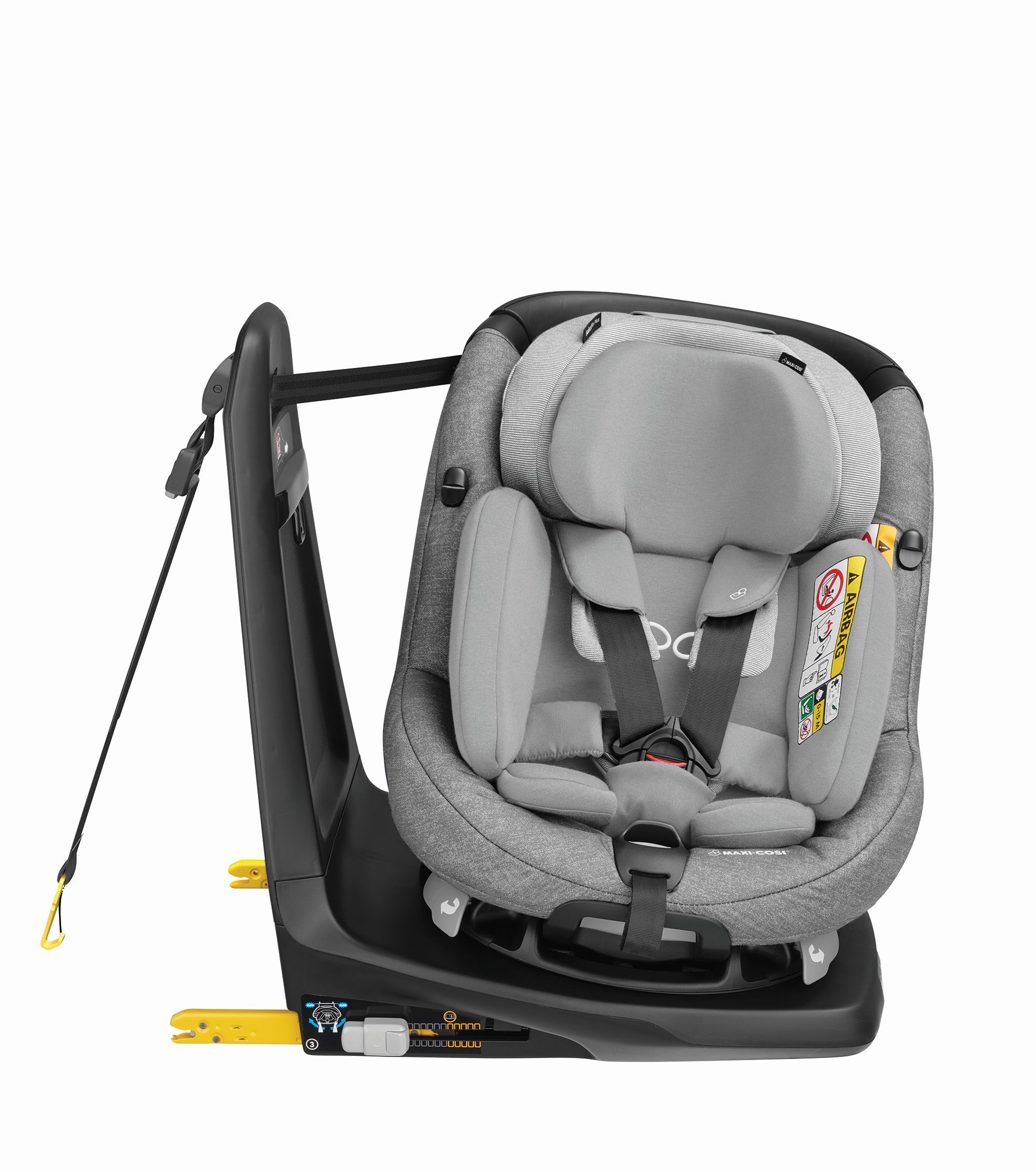 maxi cosi kindersitz axissfix plus 2018 nomad grey buy at kidsroom car seats uk. Black Bedroom Furniture Sets. Home Design Ideas