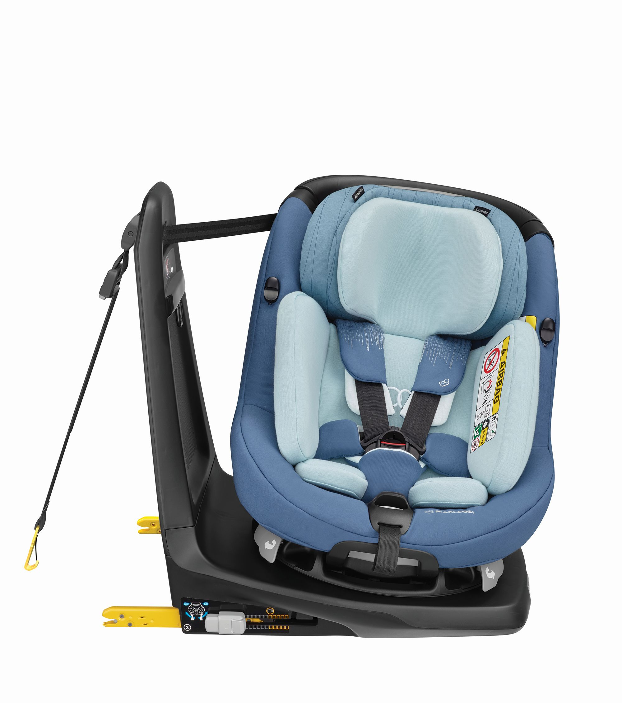 maxi cosi child car seat axissfix plus 2018 frequency blue. Black Bedroom Furniture Sets. Home Design Ideas