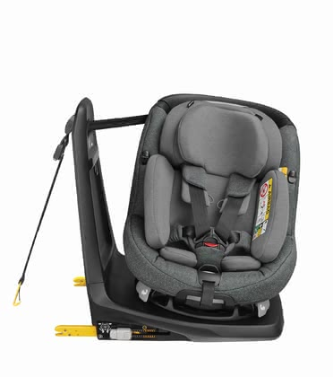 Maxi Cosi Child Car Seat AxissFix Plus -  * The Maxi Cosi child car seat AxissFix Plus can be used right from birth and accompanies your little one up until toddlerhood. It combines the latest safety standards according to i-Size norm and features a seat unit that rotates 360°.