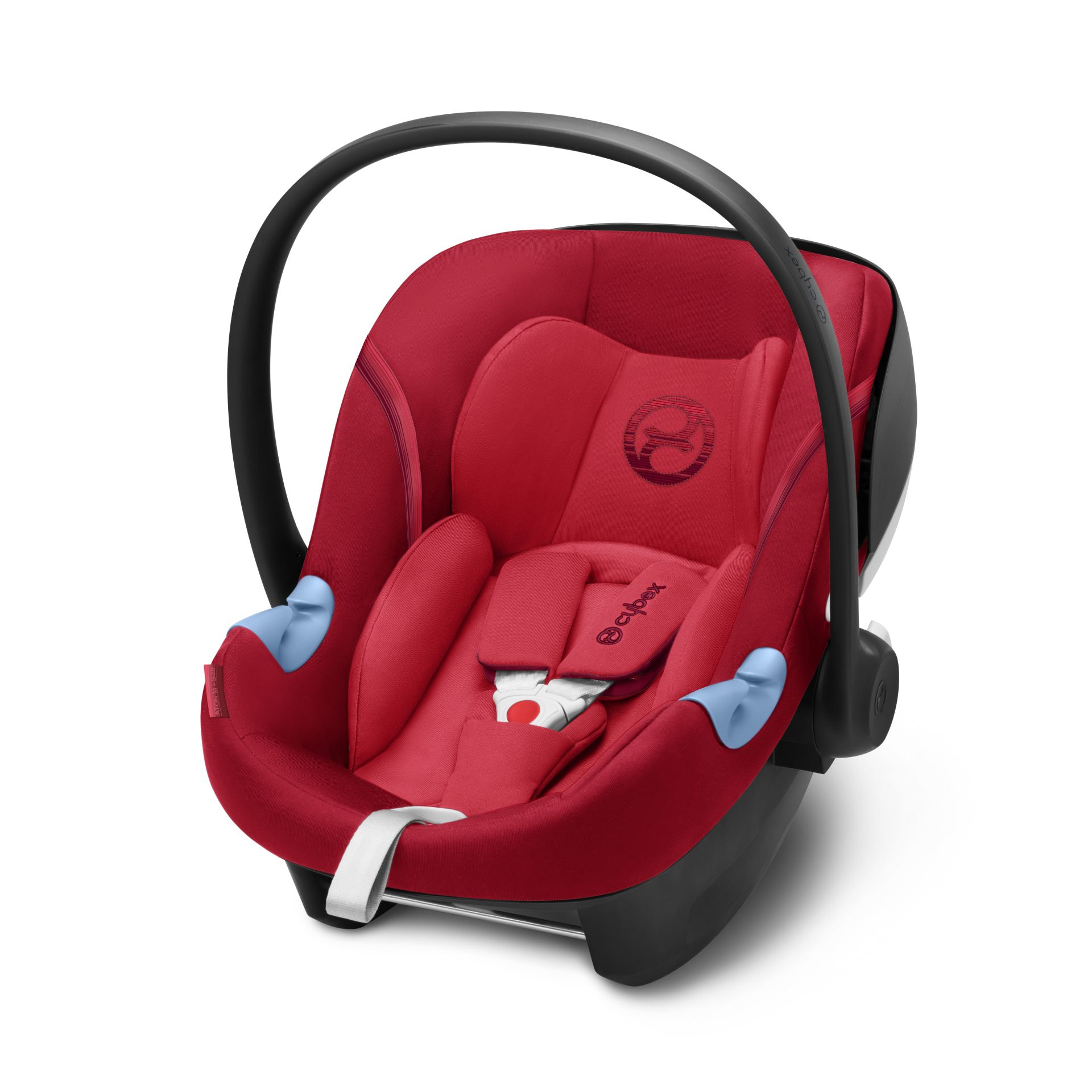 cybex infant car seat aton m i size 2018 rebel red red buy at kidsroom car seats. Black Bedroom Furniture Sets. Home Design Ideas