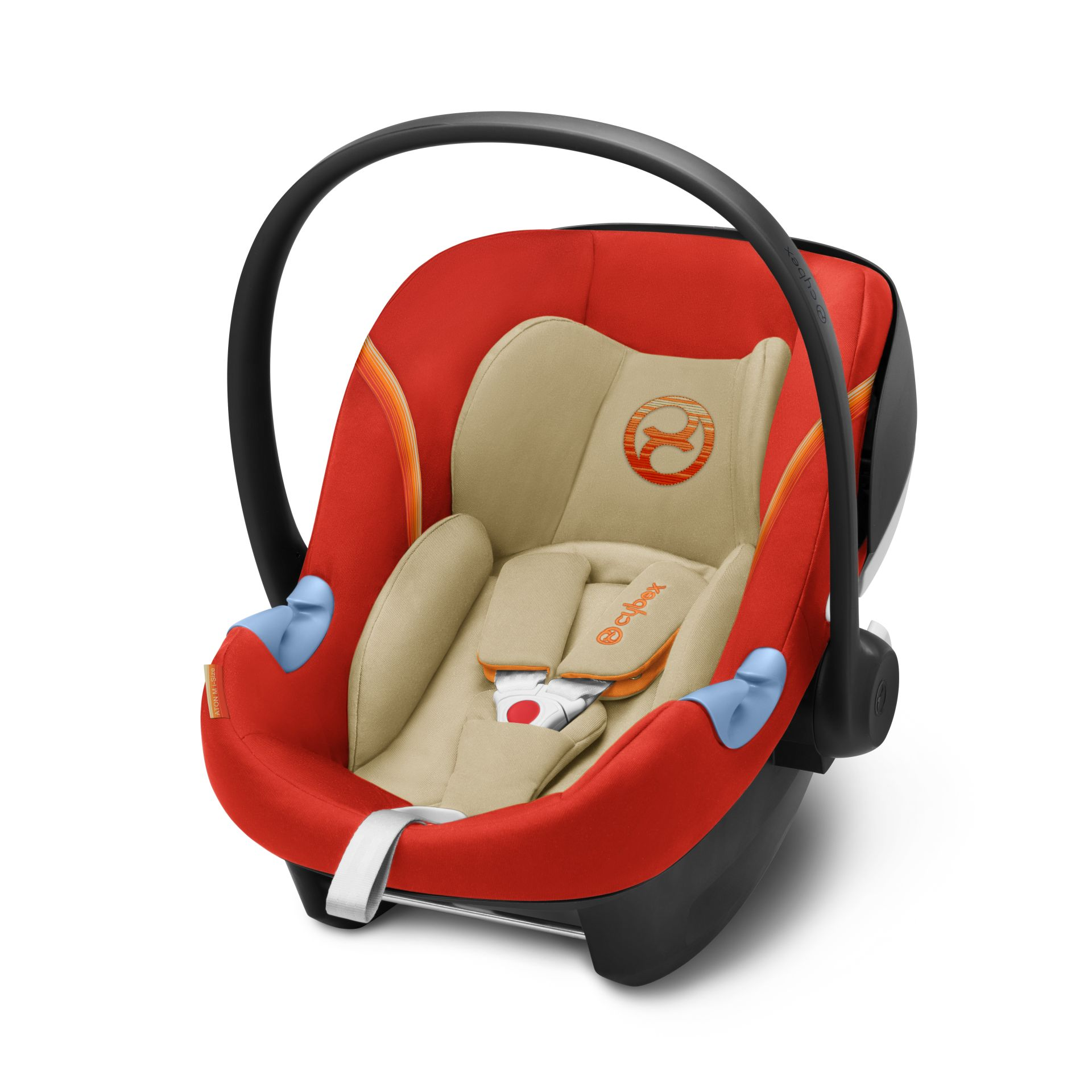 cybex infant car seat aton m i size 2018 autumn gold burnt red buy at kidsroom car seats. Black Bedroom Furniture Sets. Home Design Ideas