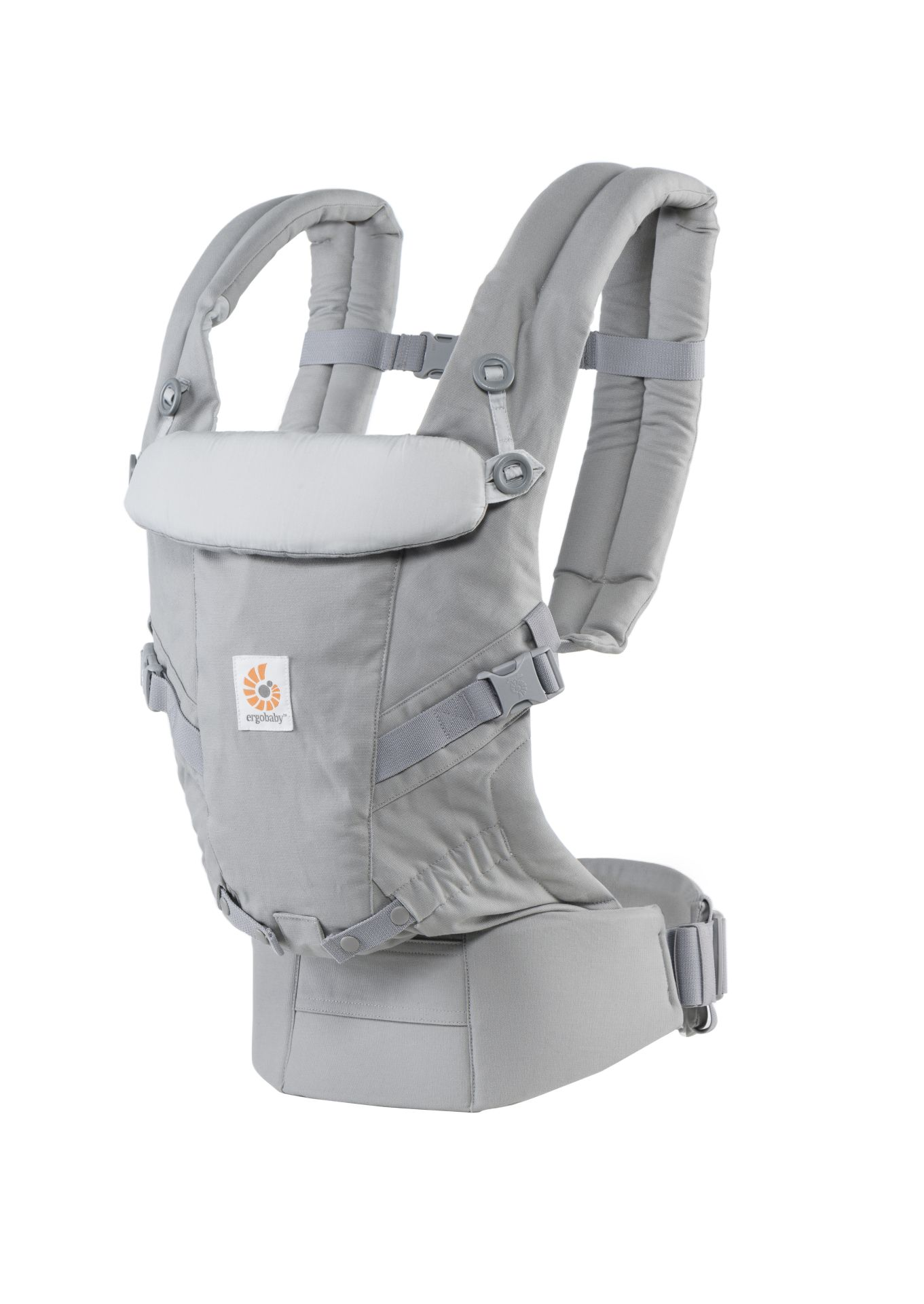 Ergobaby Baby Carrier Adapt Pearl Grey Buy At Kidsroom