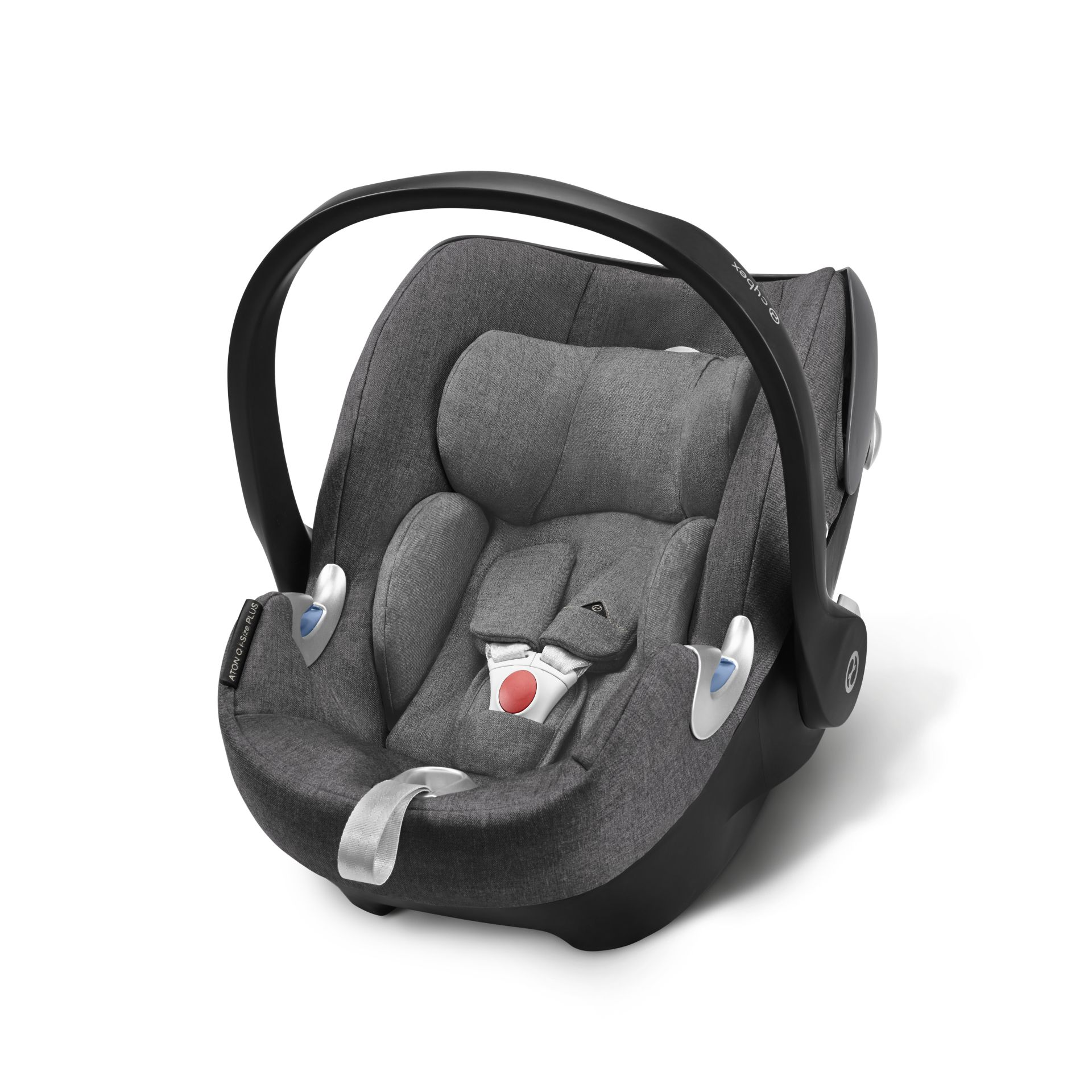 cybex platinum infant car seat aton q i size plus 2018 manhattan grey mid grey buy at. Black Bedroom Furniture Sets. Home Design Ideas
