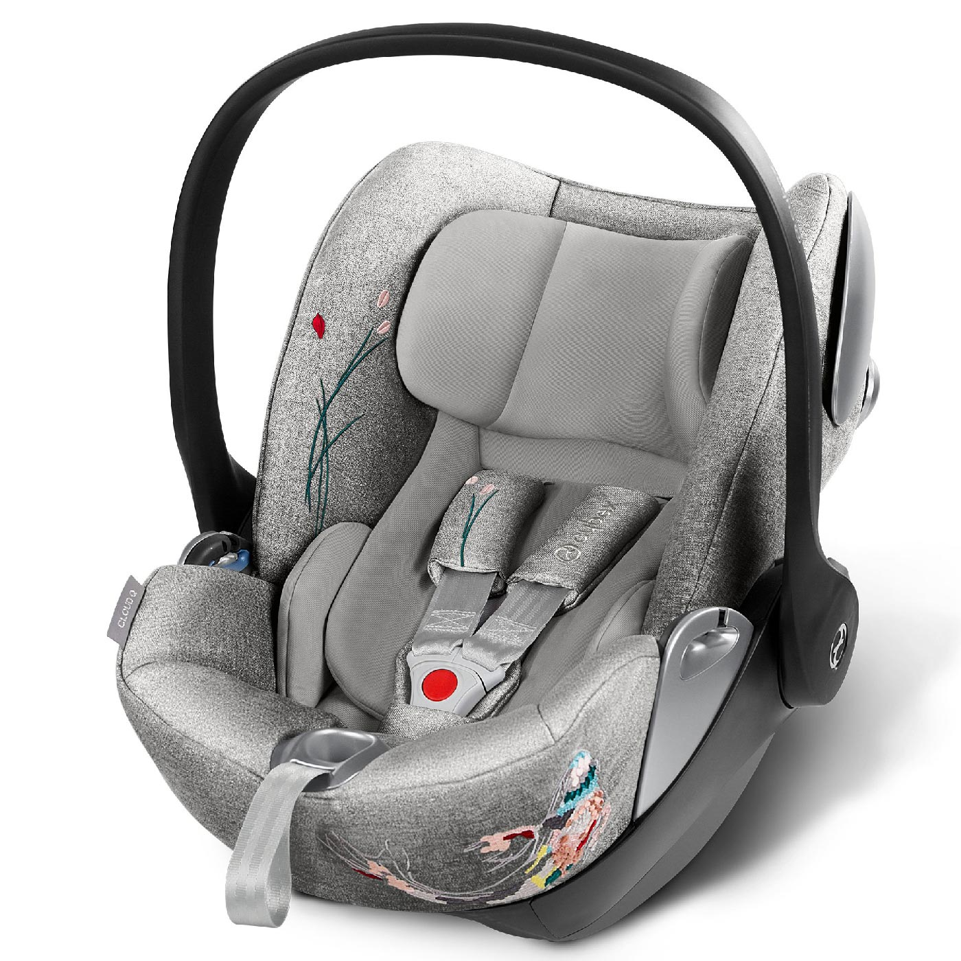 cybex platinum koi fashion collection infant car seat cloud q 2019 buy at kidsroom car seats. Black Bedroom Furniture Sets. Home Design Ideas