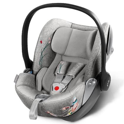 Cybex Platinum KOI Fashion Collection Infant Car Seat Cloud Q -  * Outside the car, the Cybex Platinum infant car seat Cloud Q offers an ergonomic, nearly flat lying position. Do you fancy trendy designs and would like to add a fashionable touch to your car or buggy?