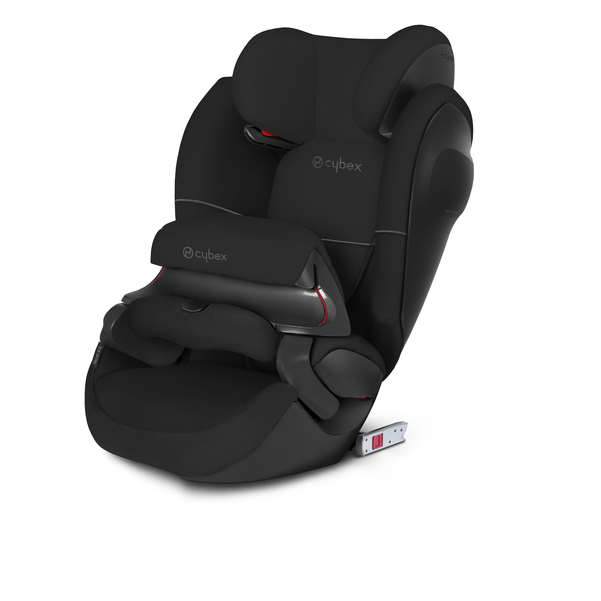 cybex child car seat pallas m fix sl 2018 pure black black. Black Bedroom Furniture Sets. Home Design Ideas