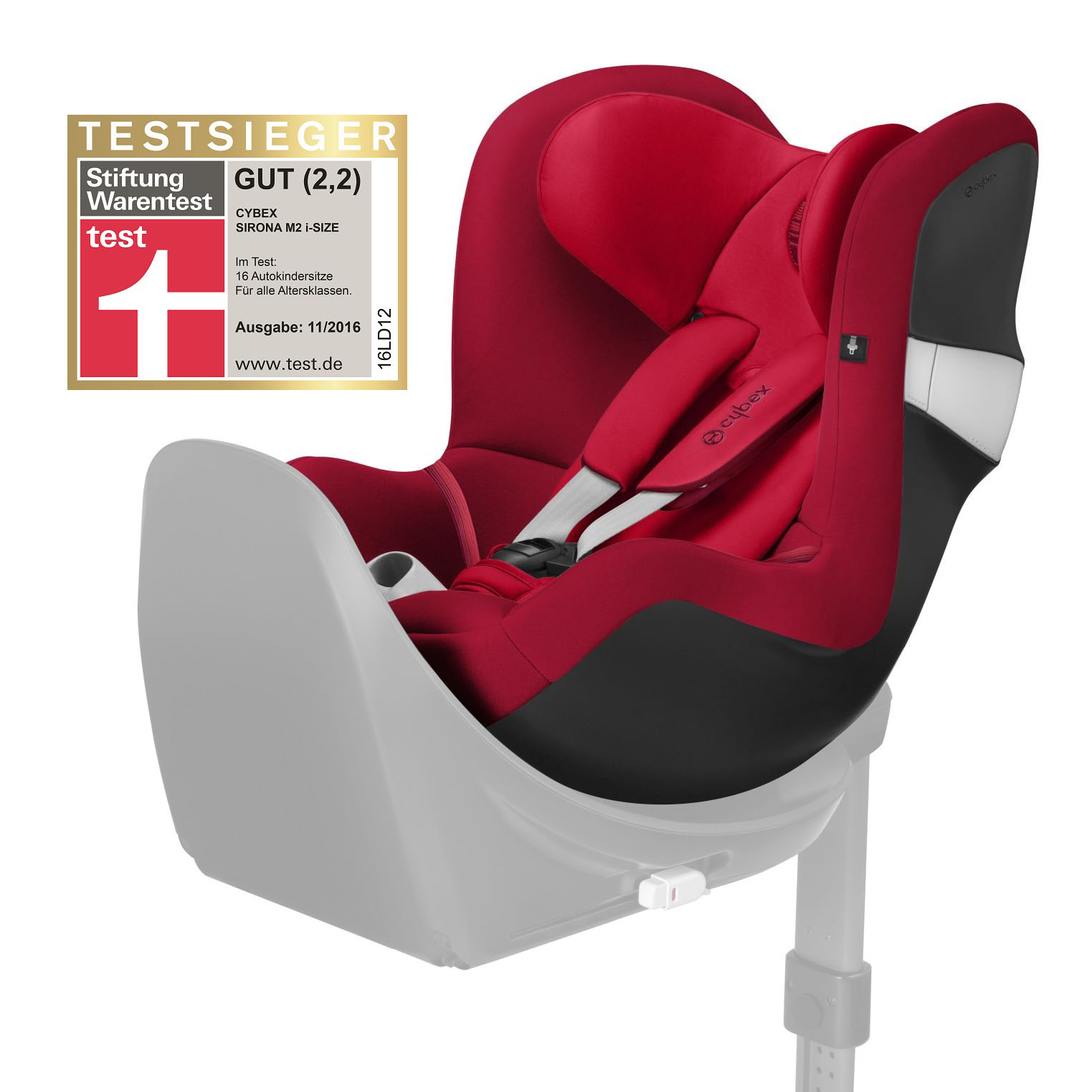 cybex child car seat sirona m2 i size 2018 rebel red red. Black Bedroom Furniture Sets. Home Design Ideas