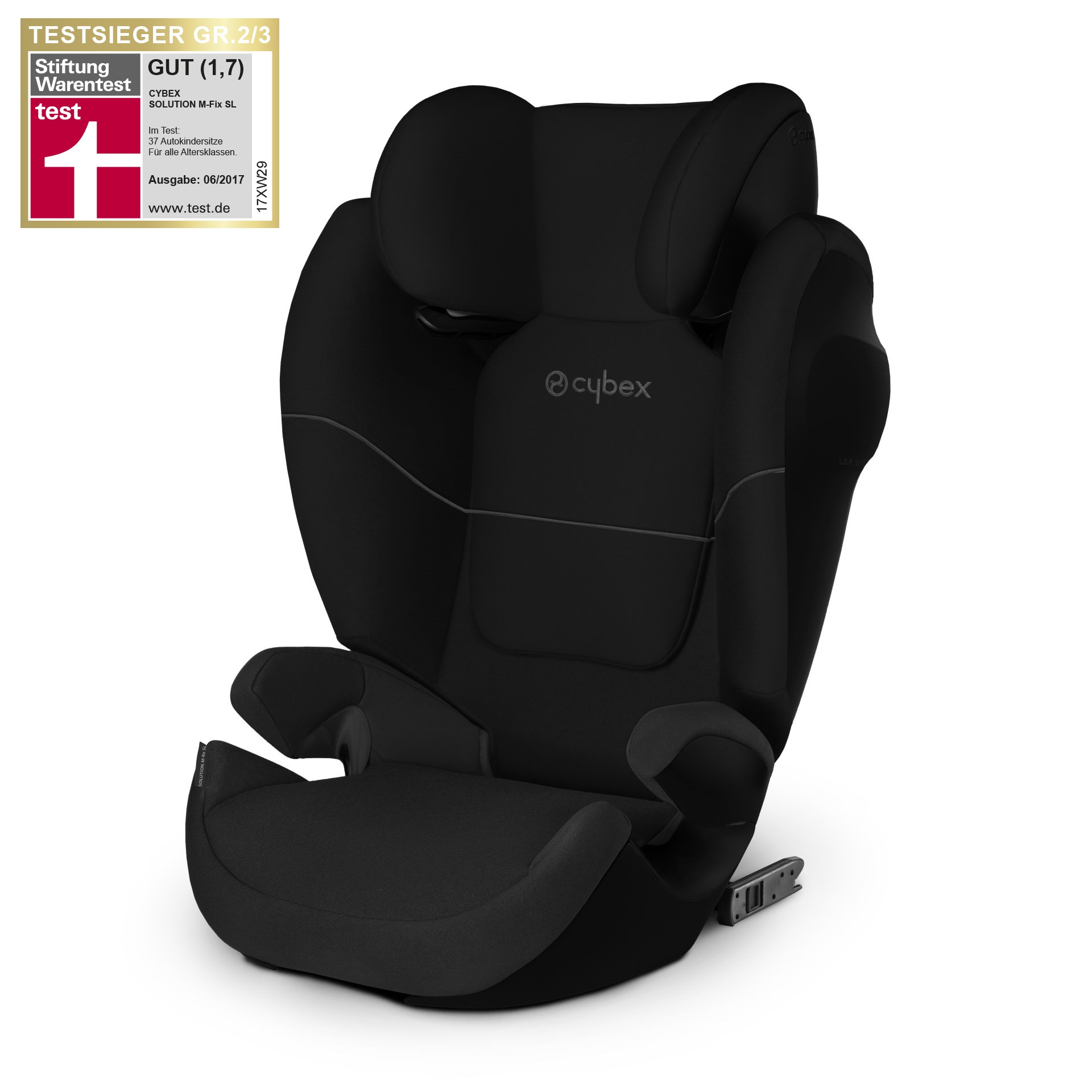cybex child car seat solution m fix sl buy at kidsroom. Black Bedroom Furniture Sets. Home Design Ideas
