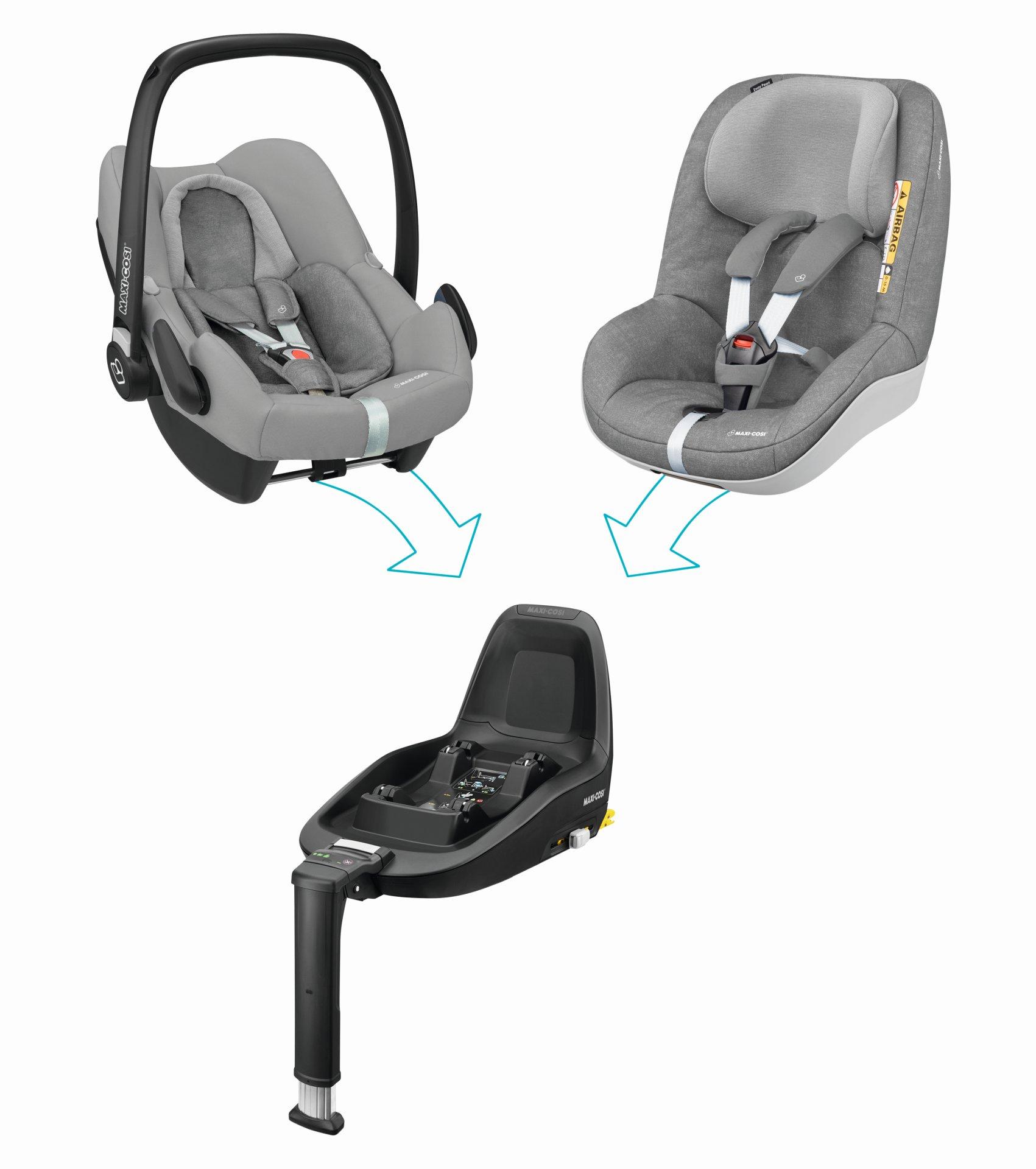 maxi cosi infant car seat rock 2019 nomad black buy at. Black Bedroom Furniture Sets. Home Design Ideas