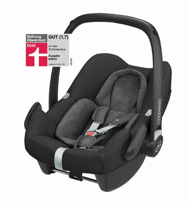 "Maxi-Cosi Infant Car Seat Rock -  * The infant car seat ""Rock"" which conforms to the latest safety standards is Maxi-Cosi's second i-Size infant car seat on the market. It is suitable for children with a size of 45 to 75 cm."