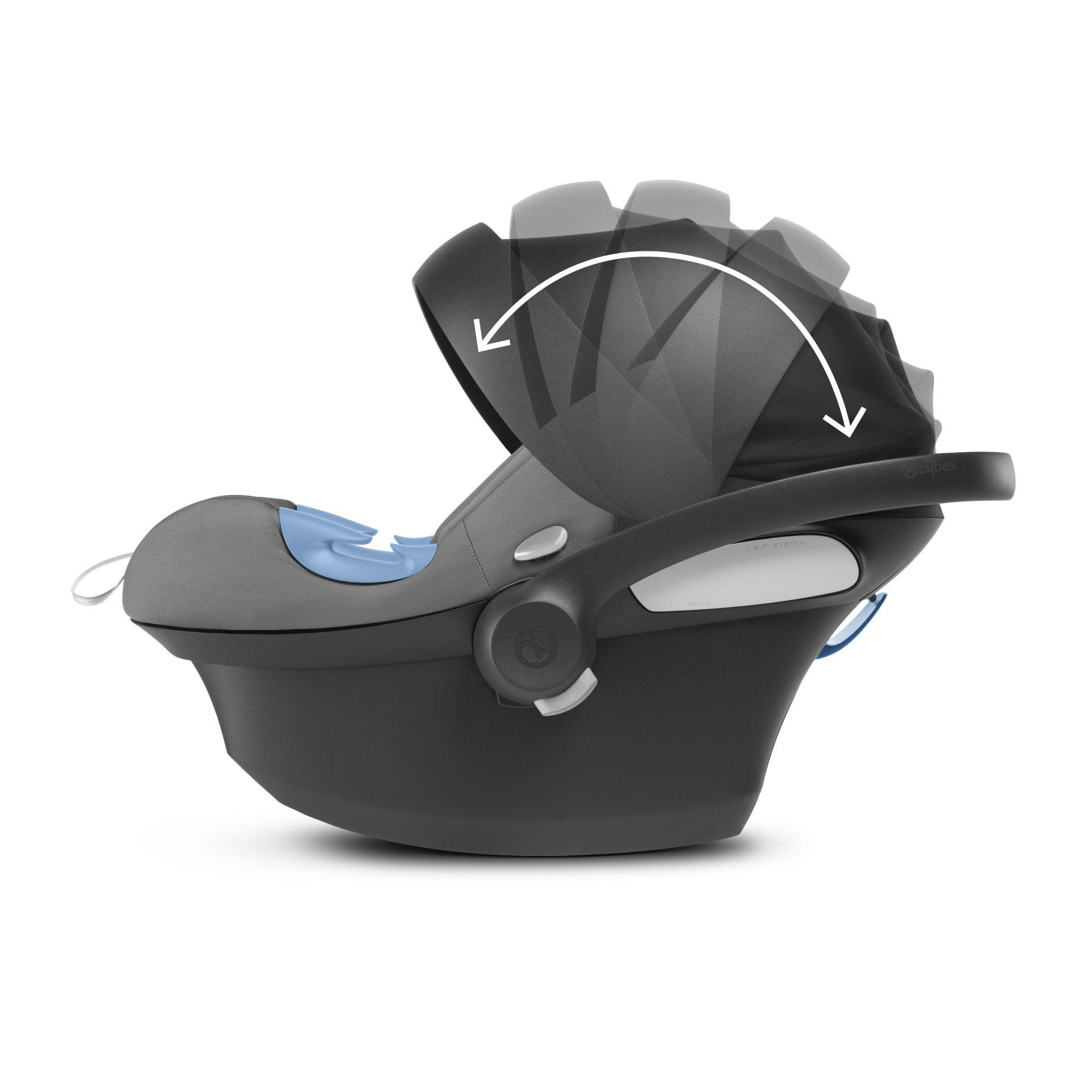 Cybex Infant Car Seat Aton M I Size Including Base Tropical Blue