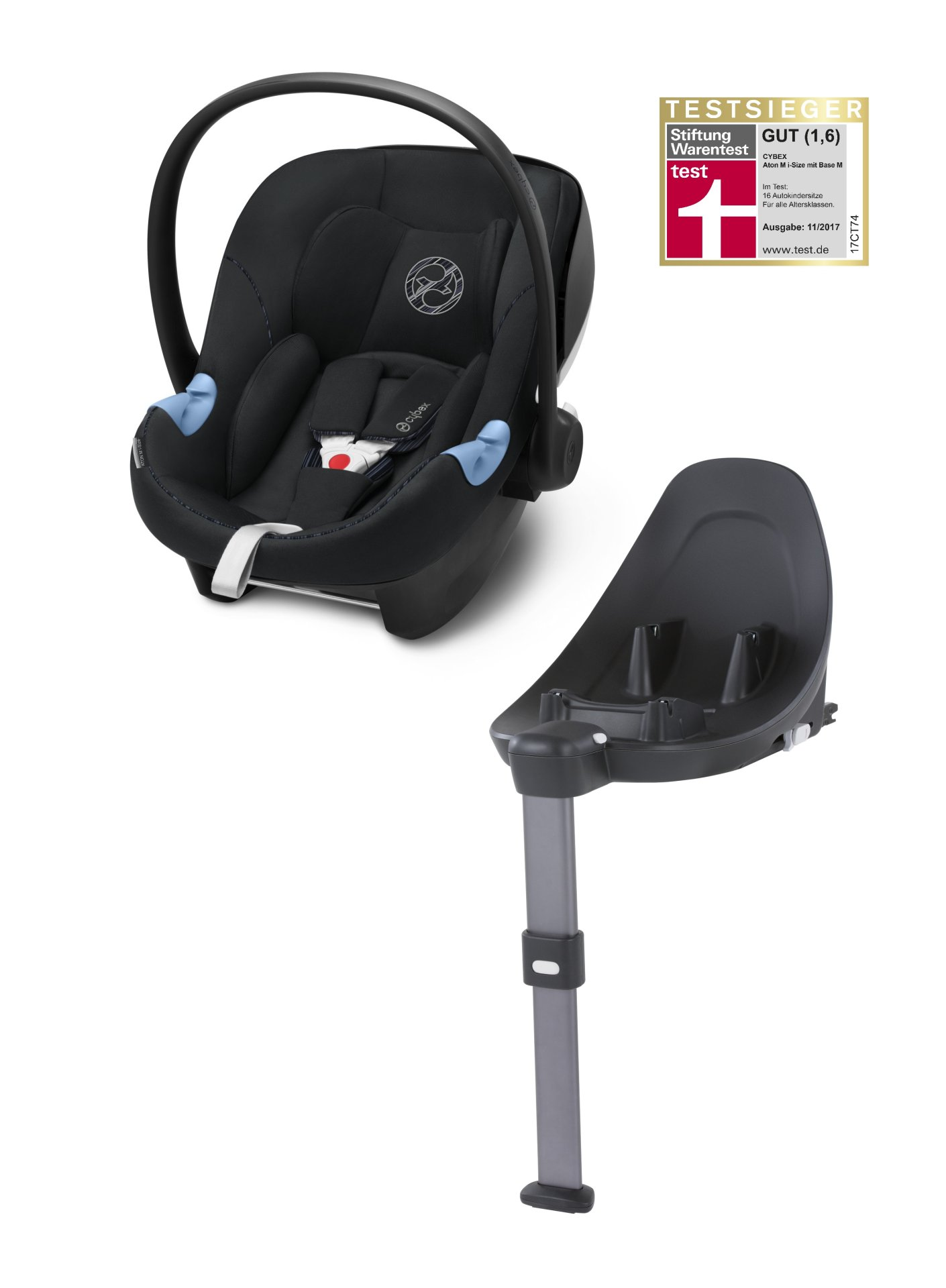 cybex infant car seat aton m i size including base m 2019. Black Bedroom Furniture Sets. Home Design Ideas