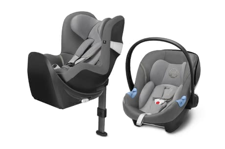 Cybex M-Line Child Car Seat Modular System i-Size Manhattan Grey - mid grey 2018 - large image