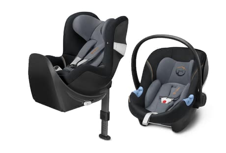 Cybex M-Line Child Car Seat Modular System i-Size Pepper Black - dark grey 2018 - large image