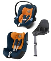 Cybex M-Line Child Car Seat Modular System i-Size -  * With the M-Line Modular System which conforms to the new i-Size norm, your child can travel safely in a rear-facing mode from birth up to approx. 4 years.