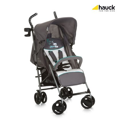 Hauck Buggy Speed Plus S -  * With Hauck's buggy Speed Plus S you can master everyday life easily. Its light weight as well as its front wheels that rotate 360° contribute to the buggy's manoeuvrability.