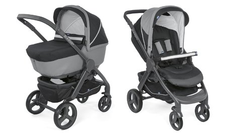 Chicco Stroller Duo Style Go Up Crossover -  * The name says it all! This trendy multi-functional stroller is suitable right from birth and helps you master any ride no matter the terrain.