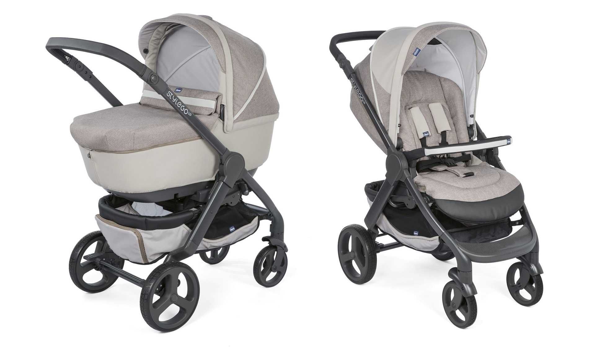 Chicco Stroller Duo Style Go Up Crossover 2018 Beige Buy