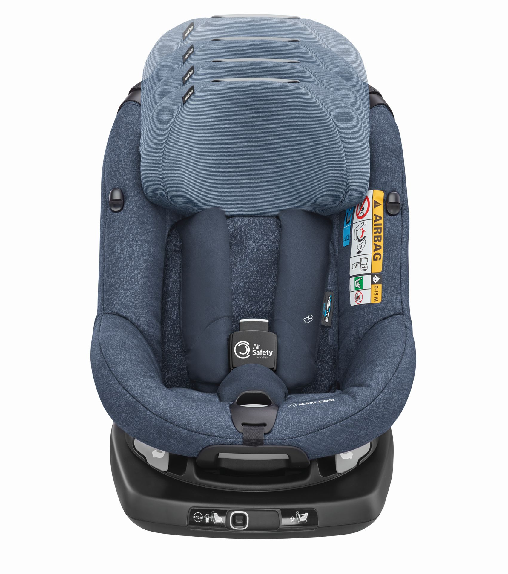 maxi cosi child car seat axissfix air 2019 nomad blue. Black Bedroom Furniture Sets. Home Design Ideas