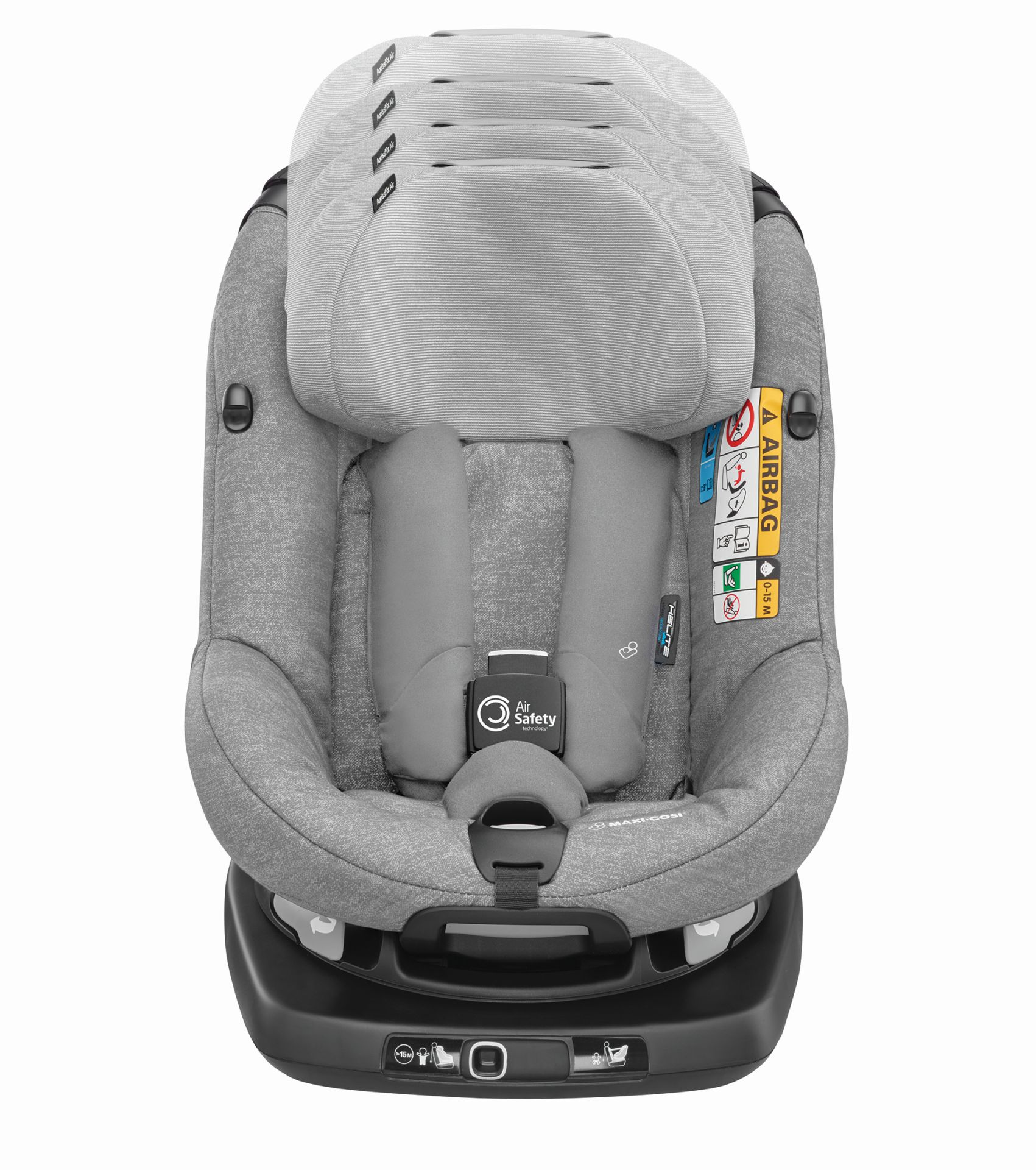maxi cosi child car seat axissfix air 2019 nomad grey. Black Bedroom Furniture Sets. Home Design Ideas