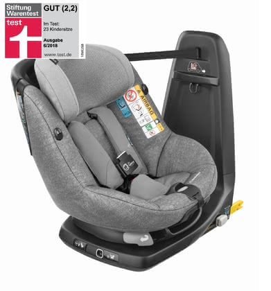 Maxi-Cosi Child Car Seat AxissFix Air Nomad Grey 2020 - large image