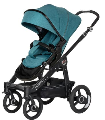 Hartan Pram Racer GTX -  * Hartan's Racer combines an extremely lightweight and tough aluminium chassis with the new trendy seat unit GTX.