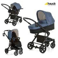 Hauck Atlantic Plus Trio Set -  * Being extremely light in weight and super flexible, Hauck's Atlantic Pus Trio Set will delight you and your child from the very first day on. This multi-functional all-round set features premium materials and an elegant look.