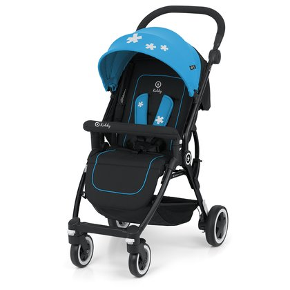 Kiddy Buggy Urban Star 1 - Bright colours and the prominent Kiddy stars add an incomparable look to the compact Kiddy Buggy Urban Star 1. The smallest among us will enjoy many rela...