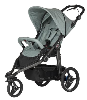 Hartan Pram Skater GTS -  * The German pram manufacturer Hartan has designed the Skater GTS for all sporty and active parents – its three tyres master even high speed strolls easily.