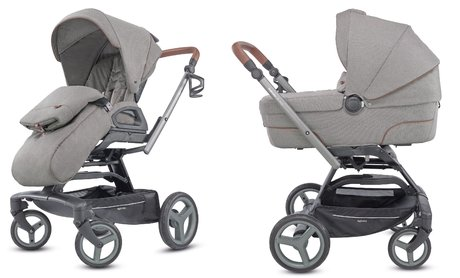 Inglesina Quad System Duo -  * The Inglesina Quad System Duo equips you and your little one with everything needed for long and relaxing strolls and can be used from birth up to toddlerhood. The elegant set comes with a chassis with pushchair seat and a carrycot that is suitable right from birth.