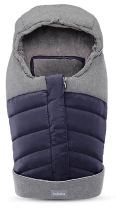 Inglesina New-Born Winter Footmuff -  * When its cold outside, it is extremely important to keep your little one warm and cuddled up in her infant car seat or in the pram. The cuddly soft new-born winter footmuff by the Italian manufacturer Inglesina stands out as the trendiest and most perfect winter accessory.