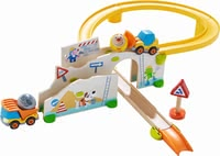"Haba Kullerbü – Play Track ""At the Construction Site"" -  * With Haba's Kullerbü play track ""At the construction site"" little builders will find everything they need for creating and managing their very own construction site."