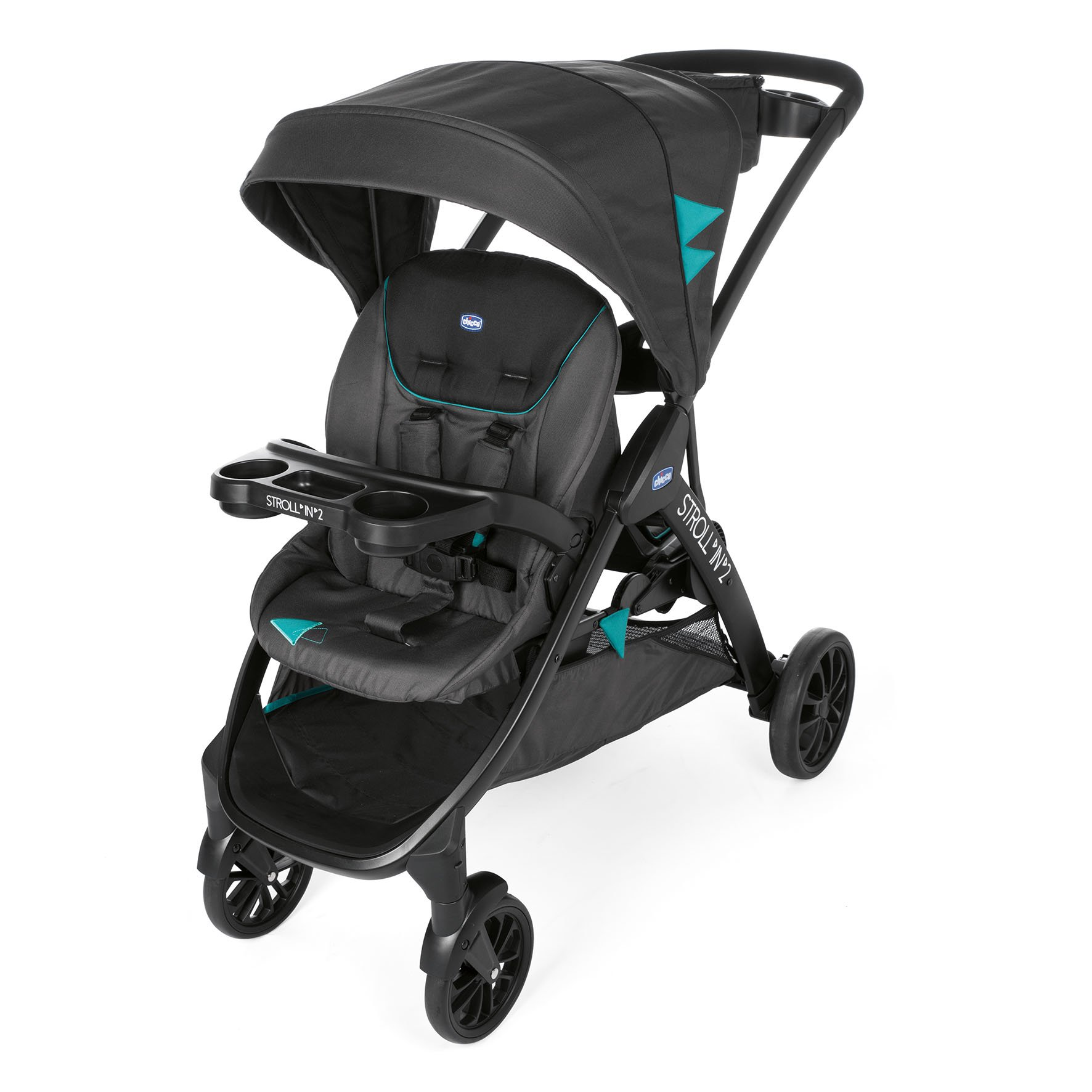 Chicco Double Stroller Stroll In 2 Buy At Kidsroom