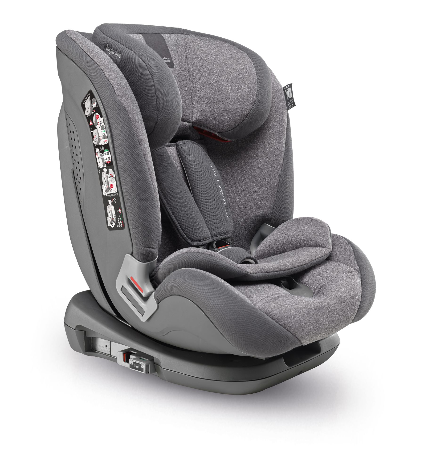 inglesina kindersitz newton 1 2 3 ifix buy at kidsroom car seats. Black Bedroom Furniture Sets. Home Design Ideas